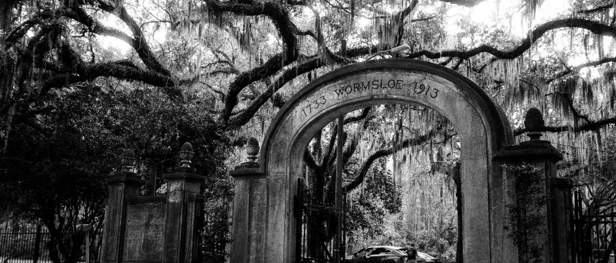 The arches at Wormsloe Historic Site